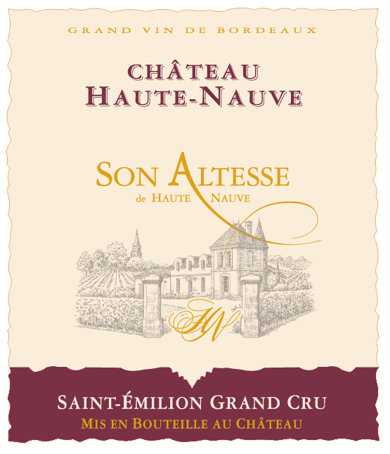 chateau haute nauve son altesse saint emilion grand cru